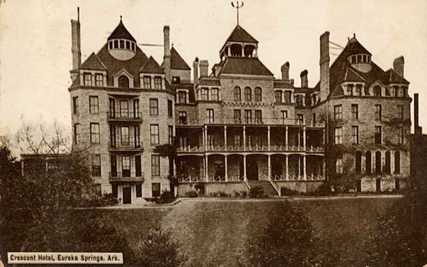 1886 Crescent Hotel & Spa, Arkansas, USA