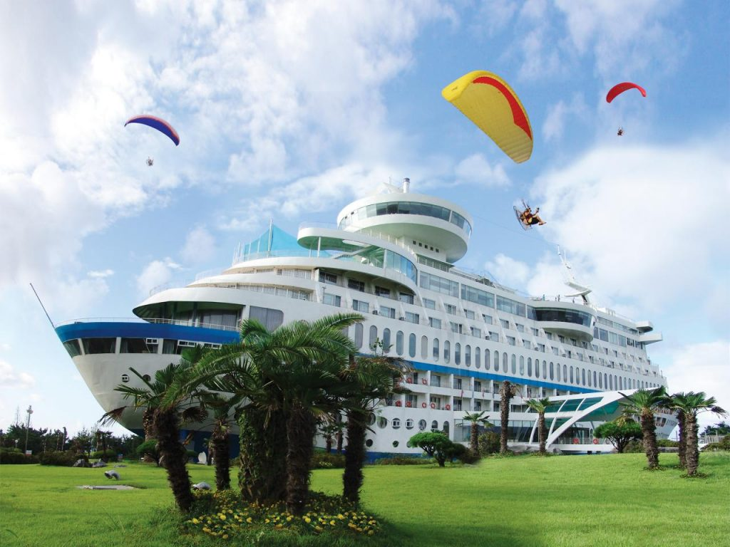 Spend a Night on the Quirkiest Ship that Never Sailed