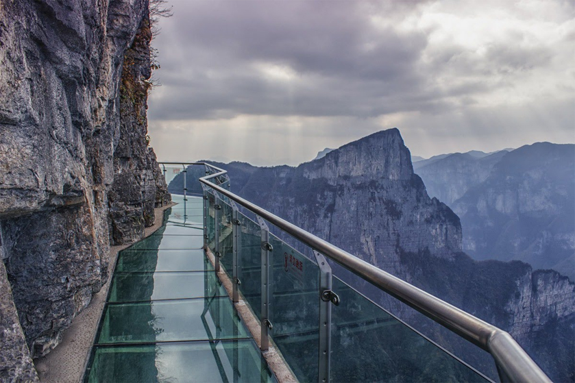 Glass Skywalk, Tianmenshan National Forest Park, China