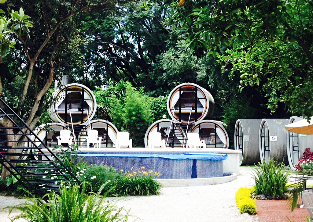Comfort, Adventure, and Nature – Blended in a Tube, at Tubohotel, Mexico