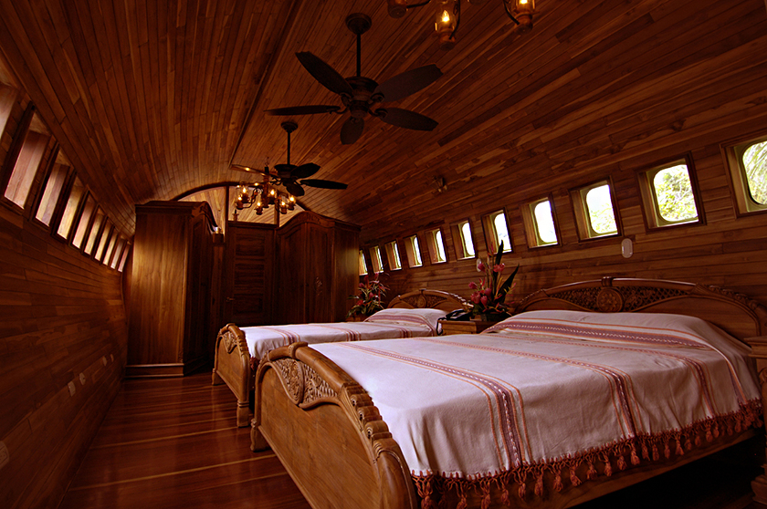 727 Fuselage Home interior