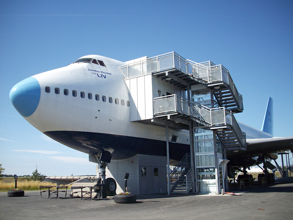 Hotel STF Jumbo Stay Stockholm – Abode Inside an Aircraft