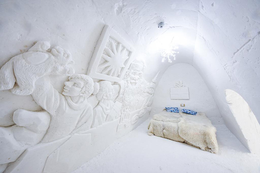 Snow Hotel number of rooms