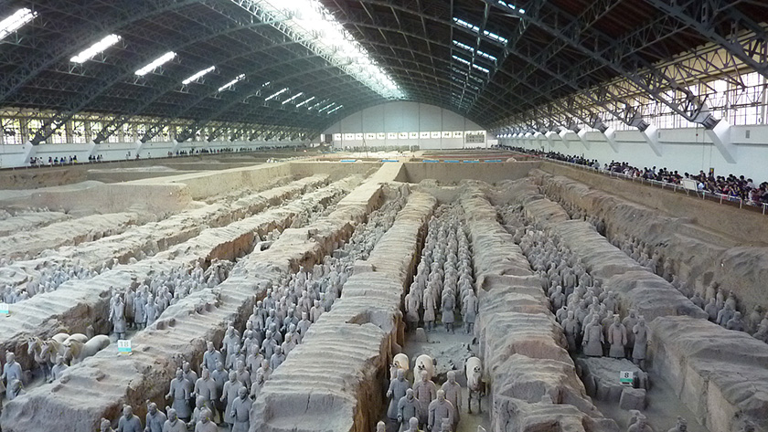 Tomb of Qin Shi Huang, China
