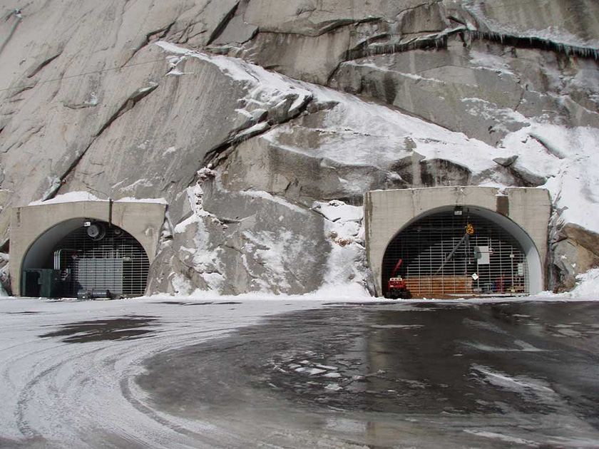The Mormon Church Secret Vault, Little Cottonwood Canyon, Utah