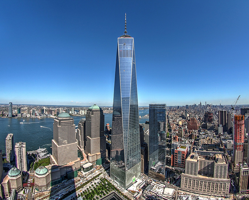 One World Trade Centre- 1,776ft