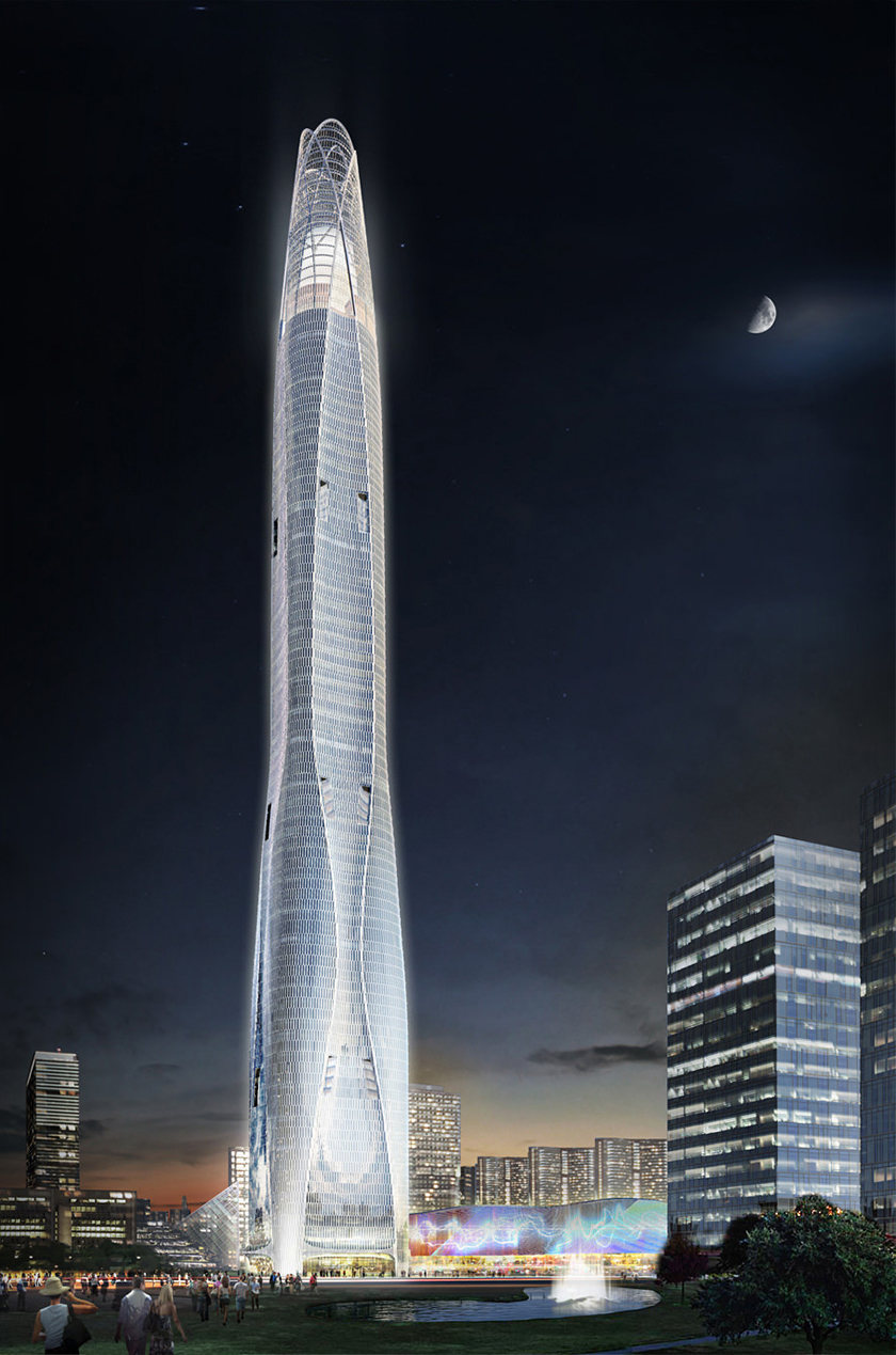 Tianjin CTF Finance Centre – 1,739 ft