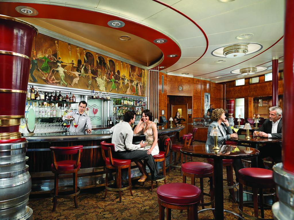 Travel Back In Time Aboard The Queen Mary on Long Beach in