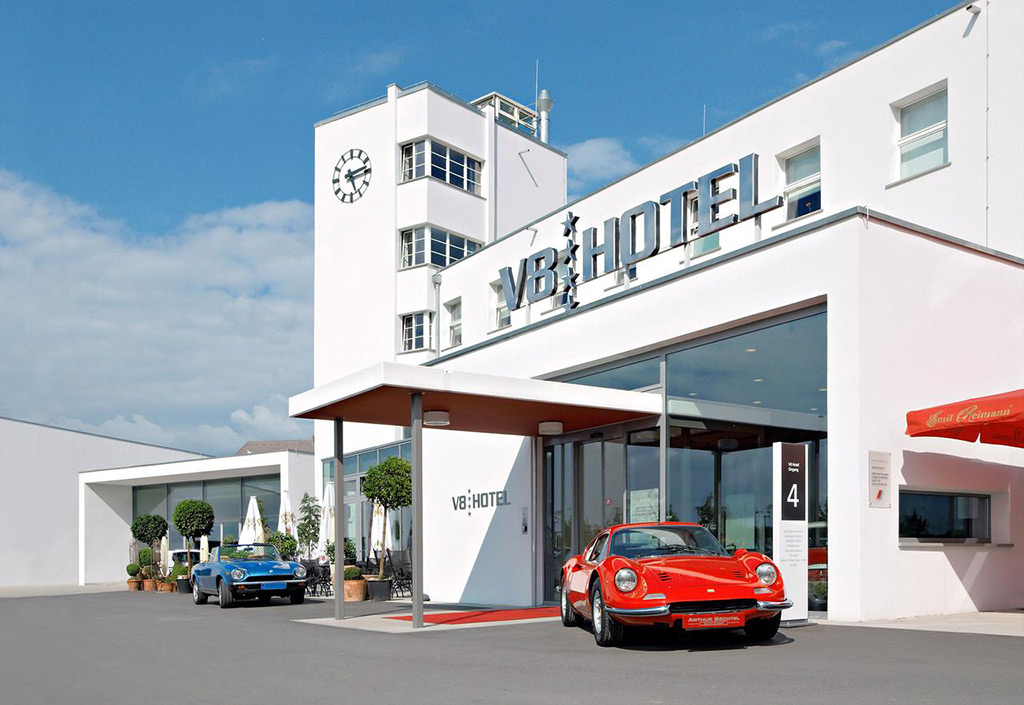 V8 Hotel – The Raciest Place to Sleep in Stuttgart