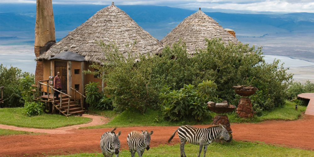 On the Edge of the Earth – Ngorongoro Crater Lodge