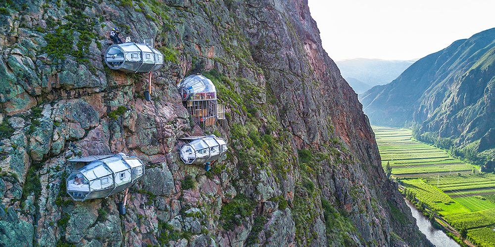 Experience the Best of Nature here at Skylodge Adventure Suites, Cusco, Peru