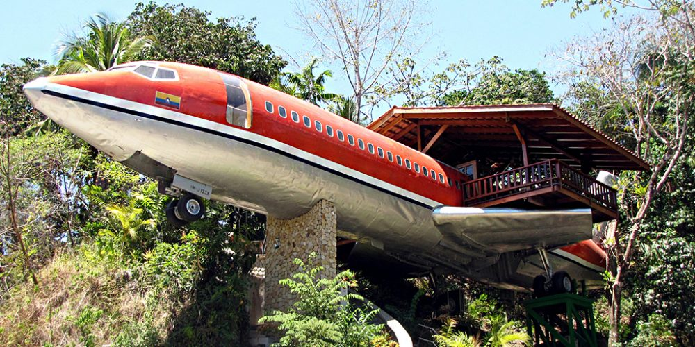 Costa Rica : 727 Fuselage Home – The Boeing Hotel