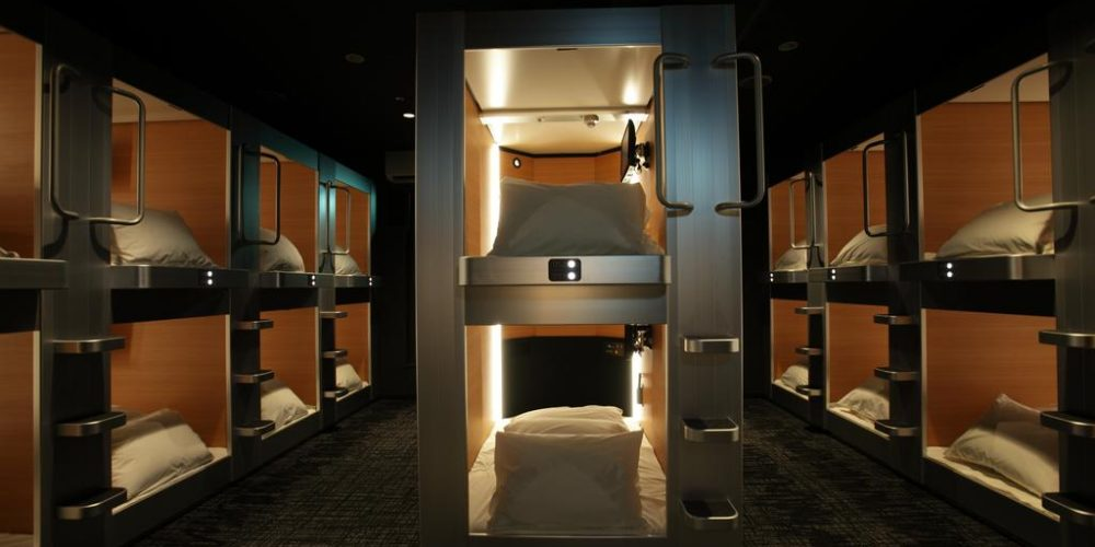 Hotel Cabana (Male Only) – Comfortable, Affordable, and Fulfilling Capsule Accommodation