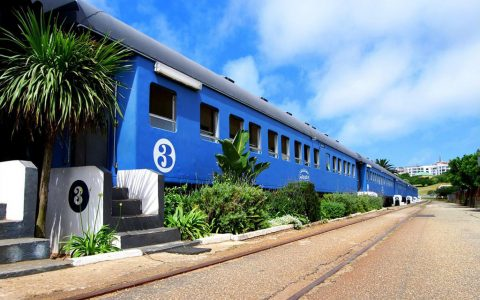 Santos Express Train Lodge – Living Close to the Sun and Sand in A Train!