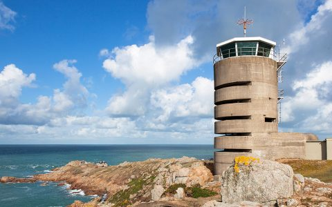 Observe Time Pass By On An Date With War-History, at Radio Tower, St. Brelade,United Kingdom