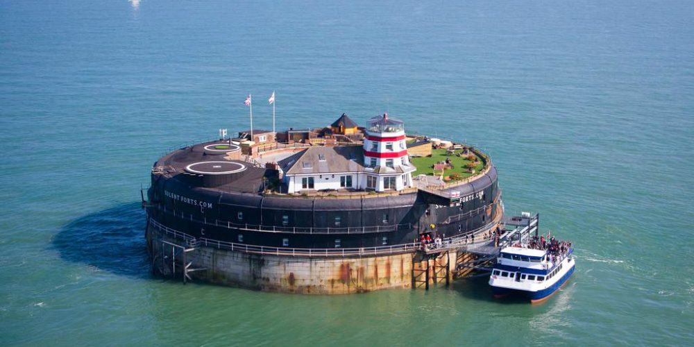 No Man's Fort in the UK – The Perfect Hideout For Summers