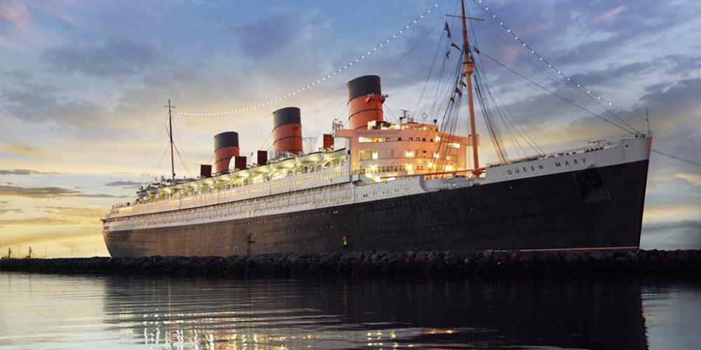 Travel Back In Time Aboard The Queen Mary on Long Beach in California